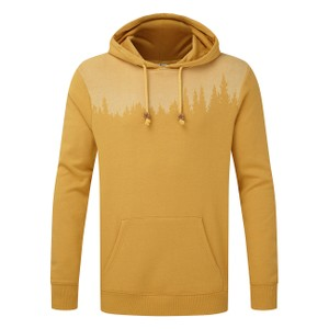 tentree Juniper Hoodie Mens in Sweet Birch Yellow Heather