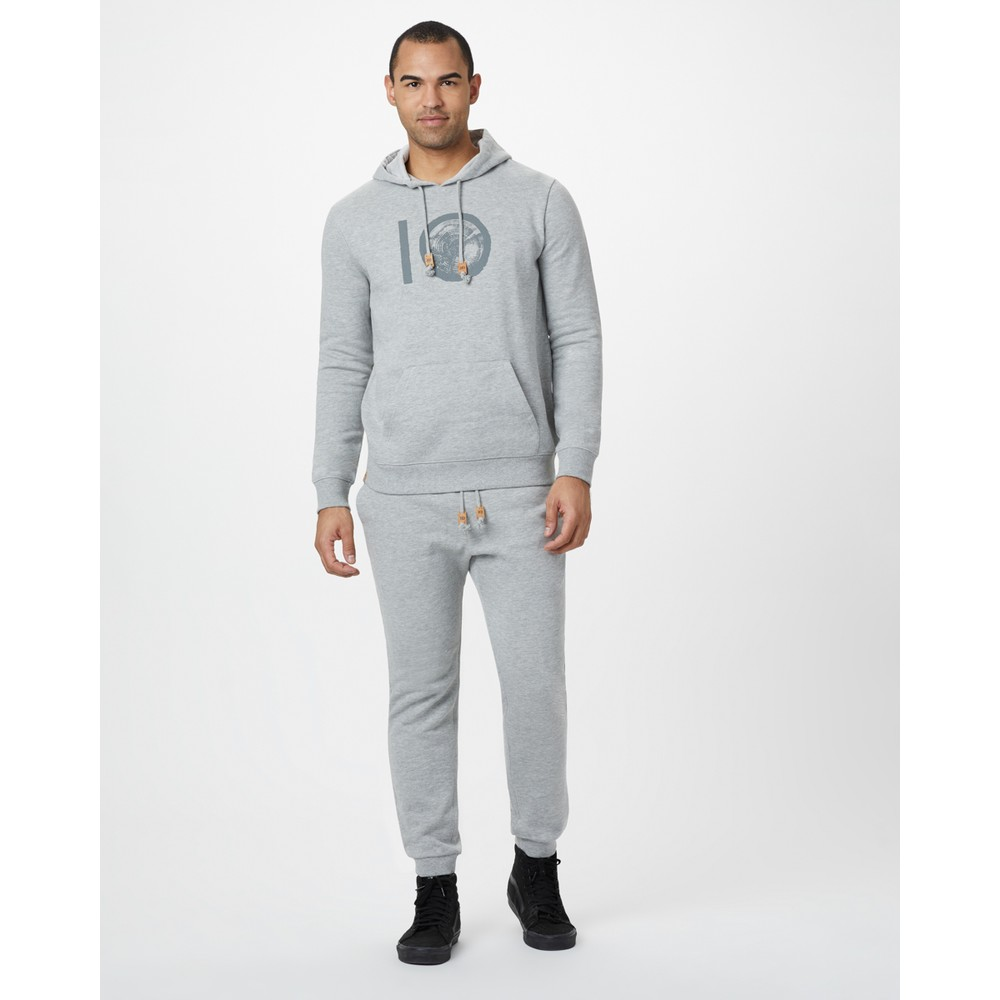 tentree Atlas Sweatpant Mens Hi Rise Grey Heather