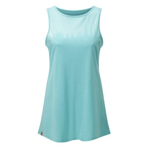 Juniper Classic Tank Womens Moraine Blue Heather