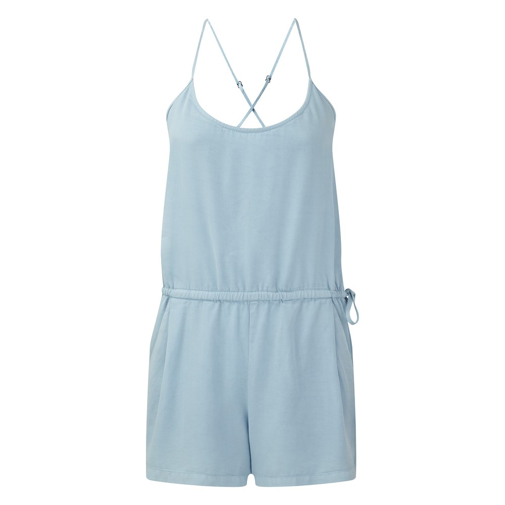 tentree Laxmi Jumpsuit Womens Glacier Blue