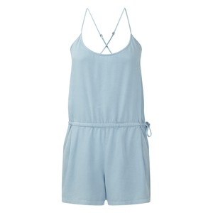 tentree Laxmi Jumpsuit Womens in Glacier Blue