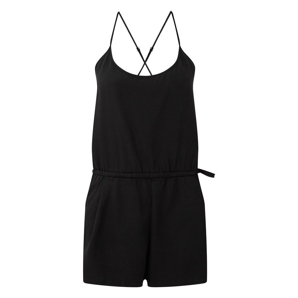 tentree Laxmi Jumpsuit Womens Meteorite Black