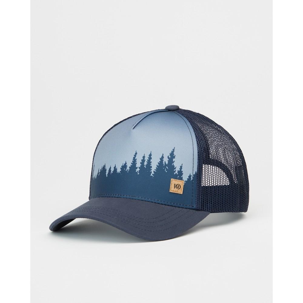 tentree 5-Panel Altitude Hat Dark Ocean Blue Juniper