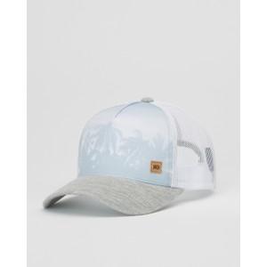 tentree 5-Panel Altitude Hat in Hi Rise Grey Juniper