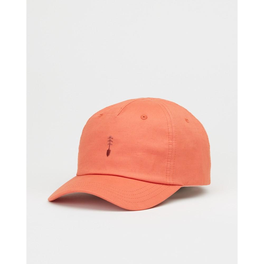 tentree Peak Hat Burnt Sienna Orange