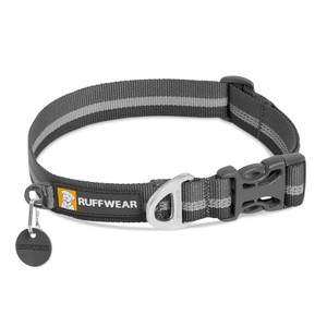 Ruffwear Crag Collar in Granite Gray