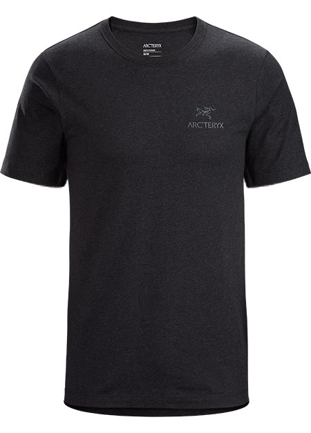 Arcteryx  Emblem SS T-Shirt Mens Black Heather