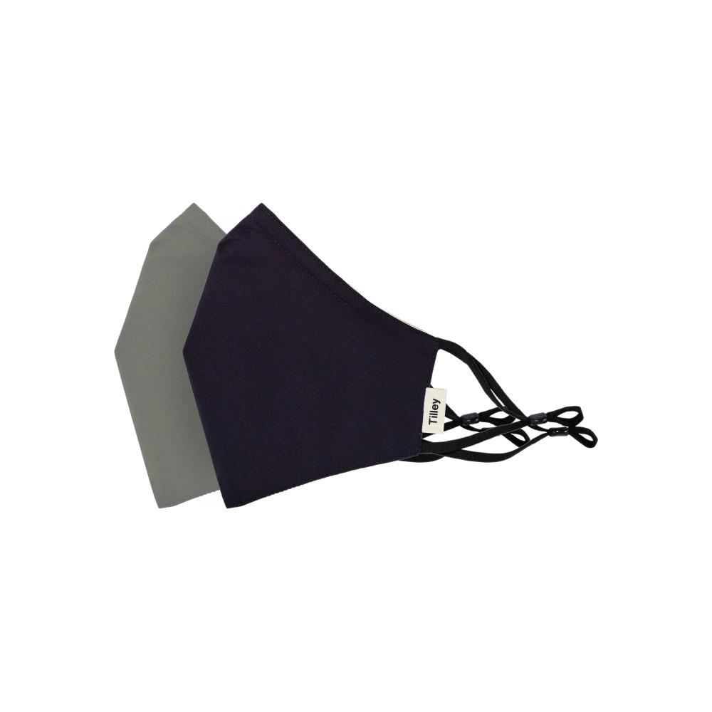 Tilley Endurables Cotton Face Mask Solid Black/Solid Khaki