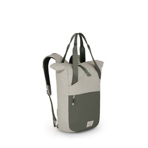 Osprey Arcane Tote in Lunar Grey/Haybale Green