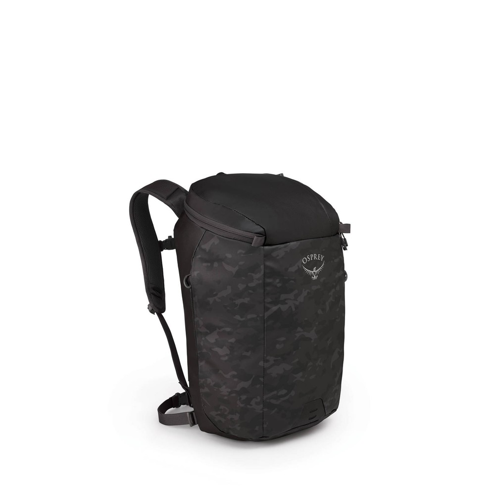 Osprey Transporter Zip Camo Black