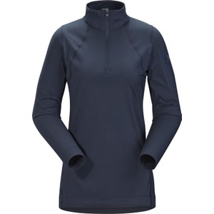 Arcteryx  Rho LT Zip Neck Womens in Cobalt Moon