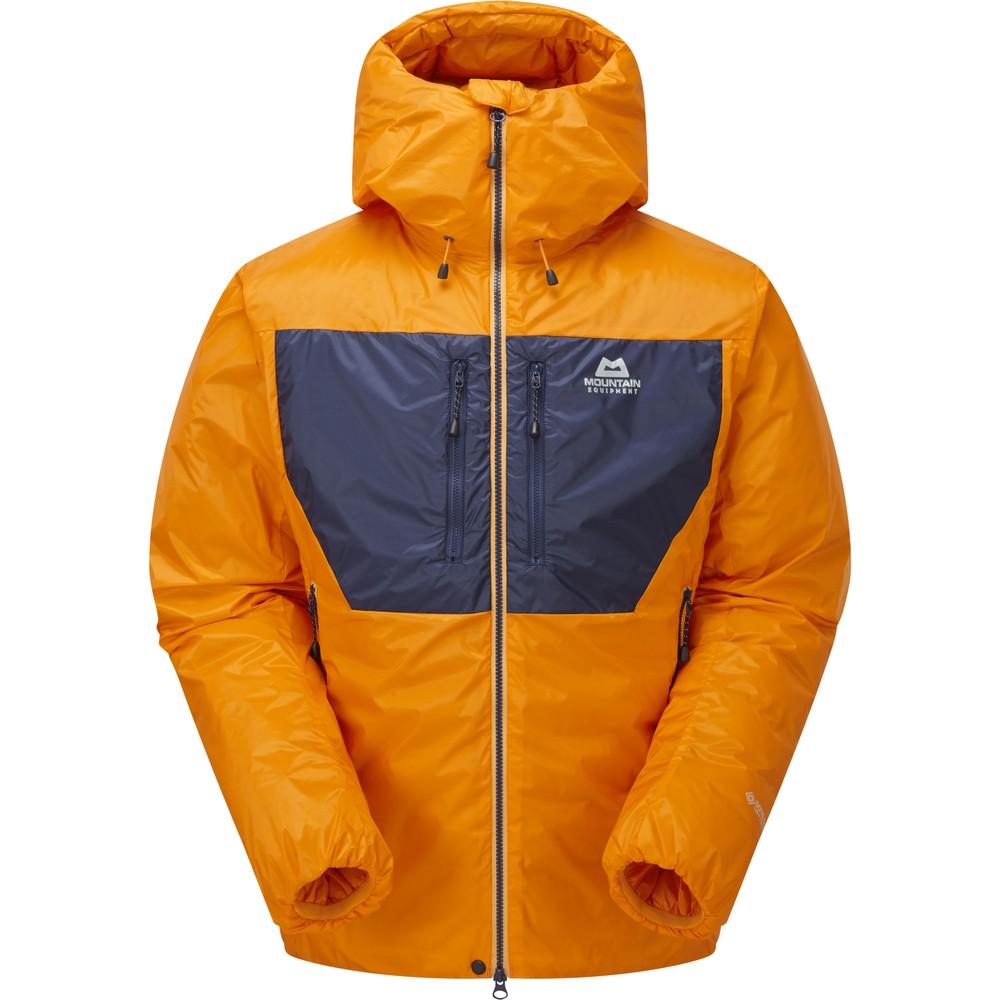 Mountain Equipment Kryos Jacket Mens Mango/Medieval