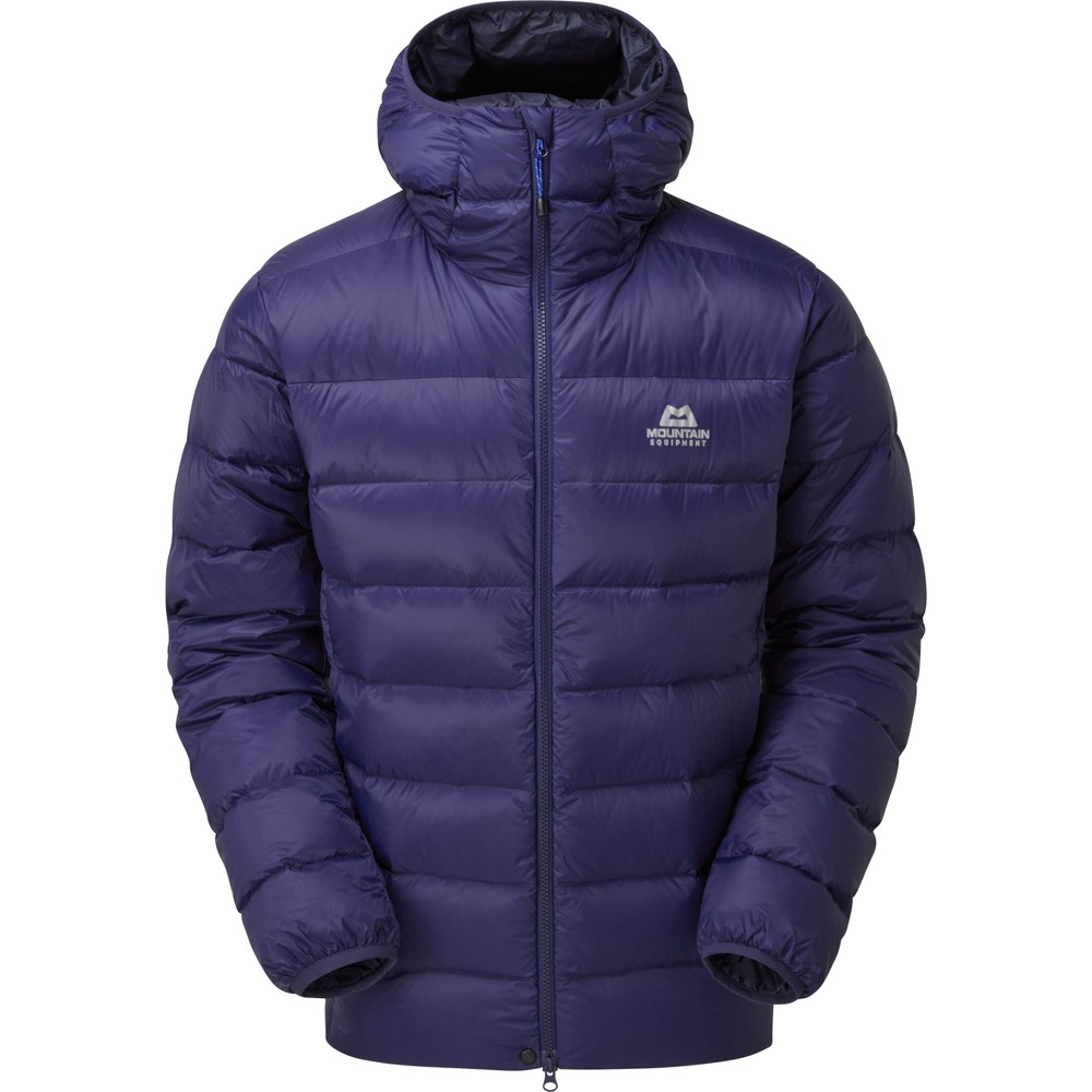 Mountain Equipment Skyline Hooded Jacket Mens Medieval Blue