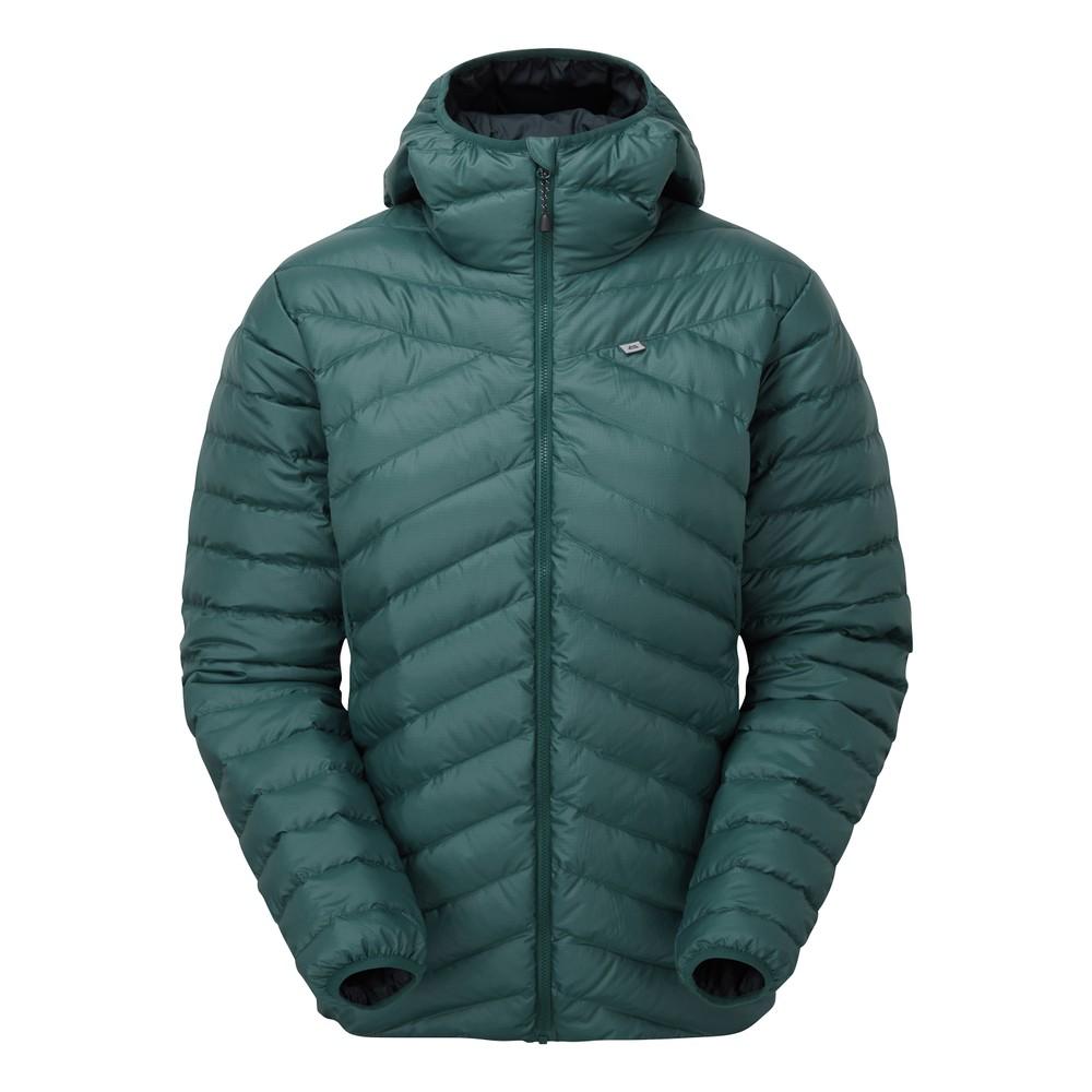 Mountain Equipment Earthrise Hooded Jacket Womens Deep Teal