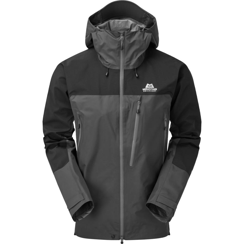 Mountain Equipment Lhotse Jacket Mens Anvil Grey/Black