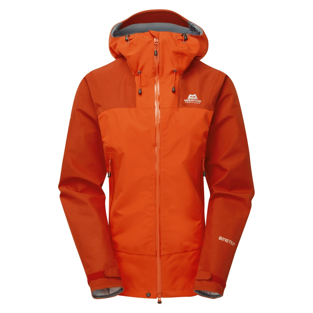Mountain Equipment Rupal Jacket Womens Magma/Bracken