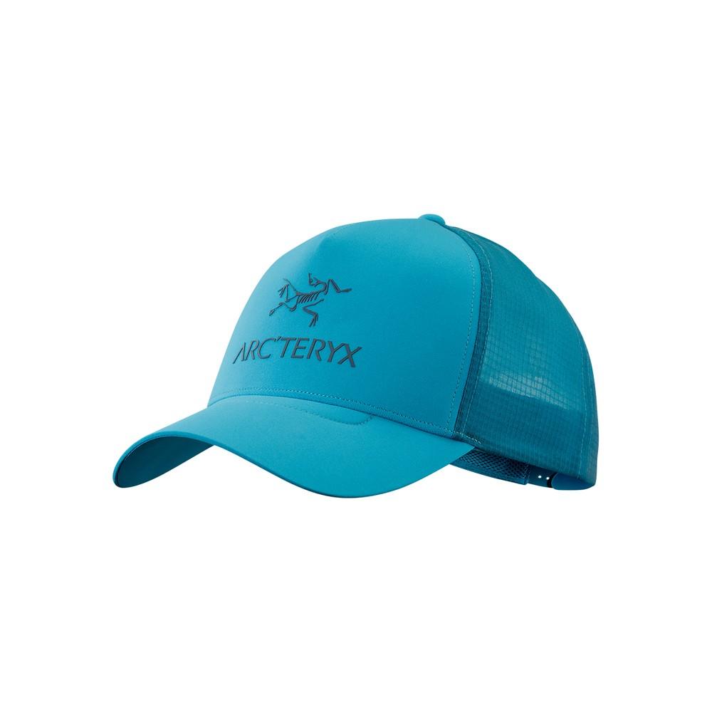 Arcteryx  Logo Trucker Hat Dark Firoza