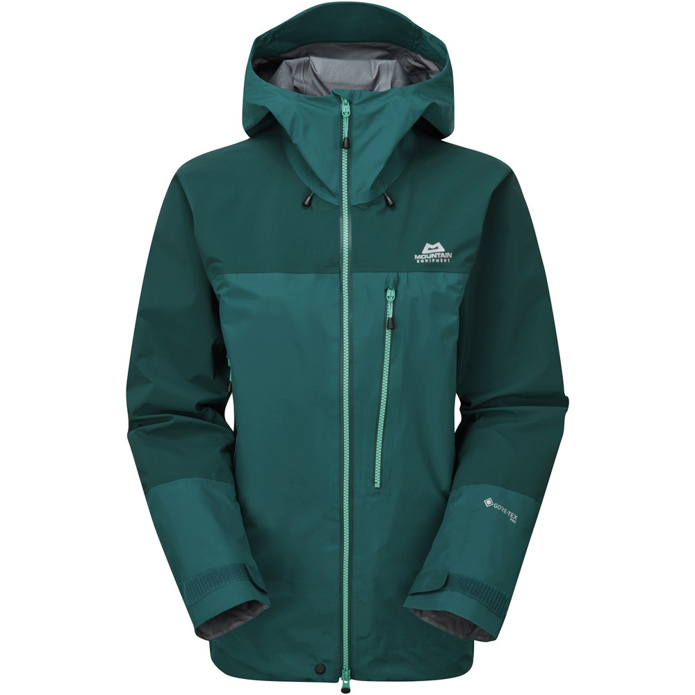 Mountain Equipment Manaslu Jacket Womens Spruce/Deep Teal