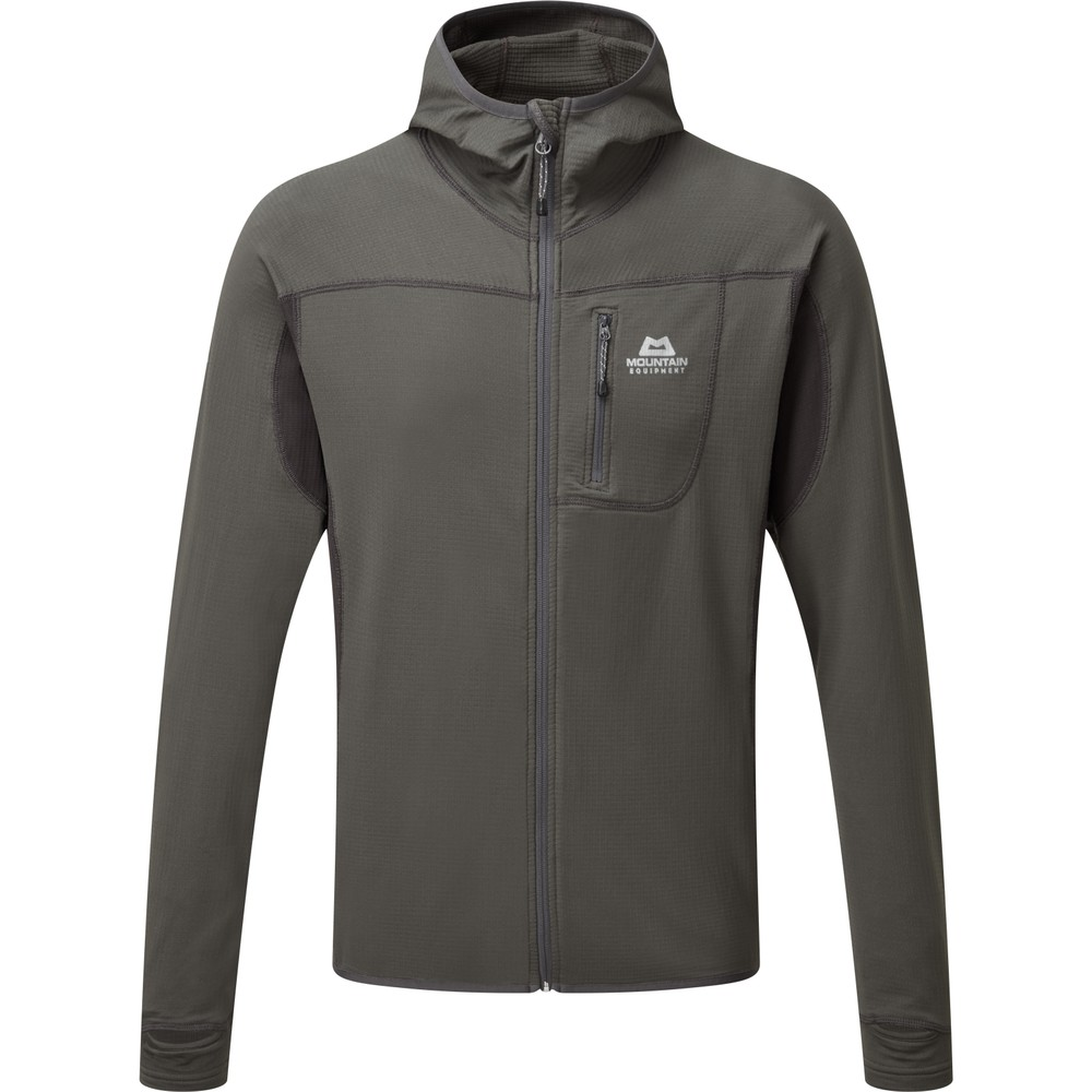 Mountain Equipment Eclipse Hooded Jacket Mens Anvil/Obsidian