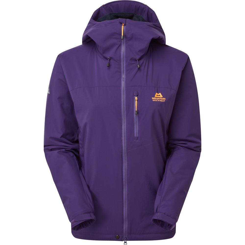 Mountain Equipment Kinesis Jacket Womens Tyrian Purple