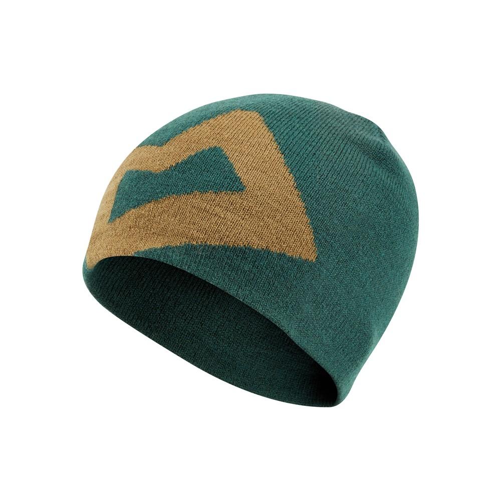 Mountain Equipment Brand Knitted Beanie Mens Conifer/Fir Green