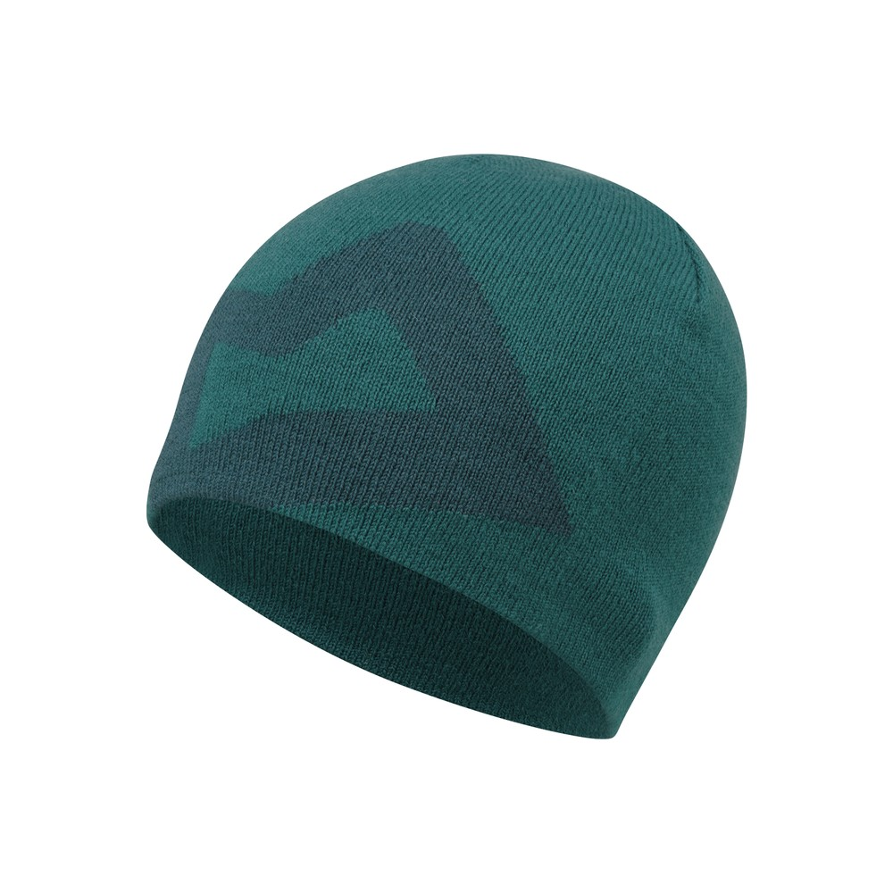 Mountain Equipment Brand Knitted Beanie Mens Spruce/Deep Teal