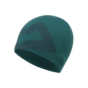 Mountain Equipment Brand Knitted Beanie Mens in Spruce/Deep Teal