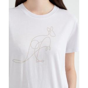 Australia Animal T-Shirt Womens White