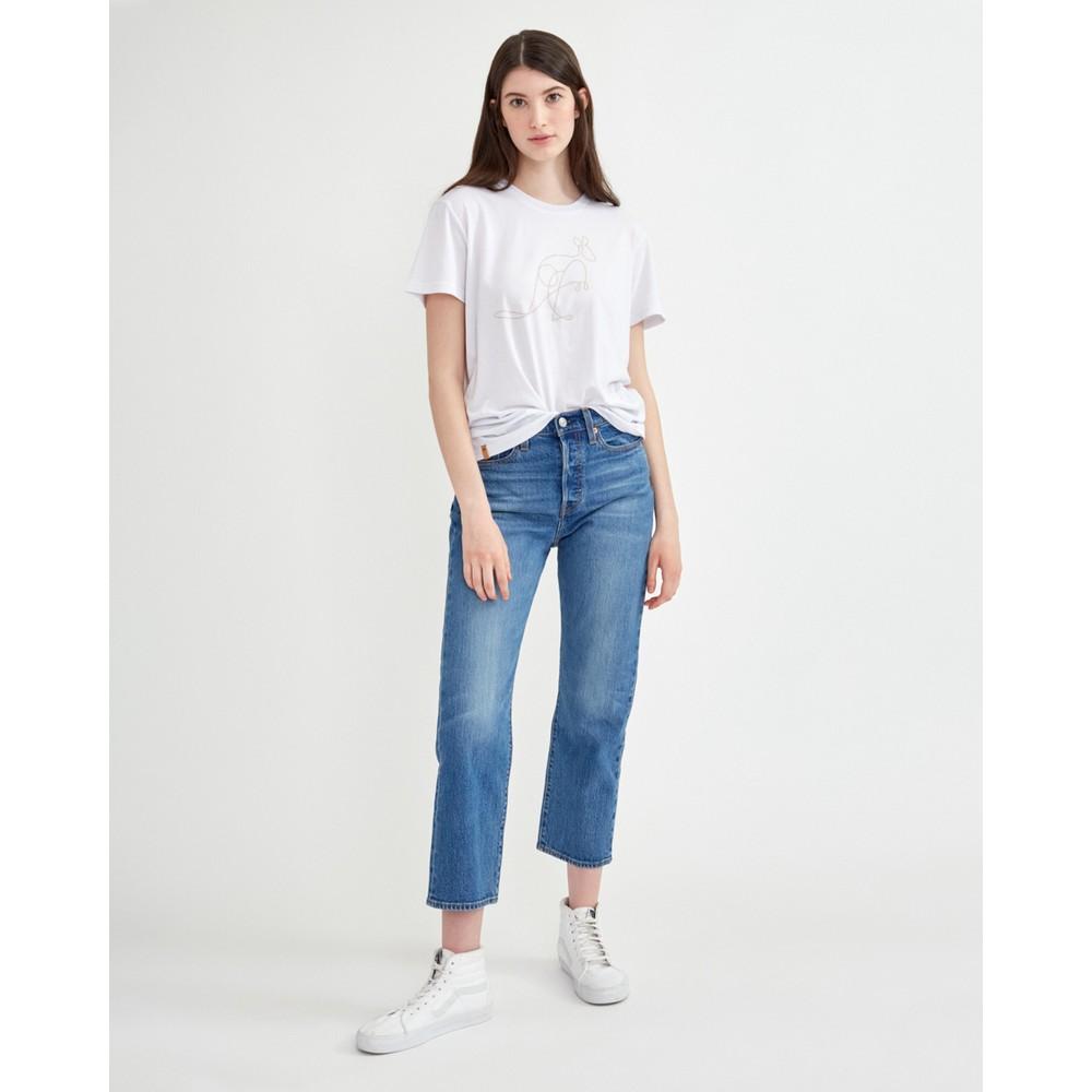 tentree Australia Animal T-Shirt Womens White