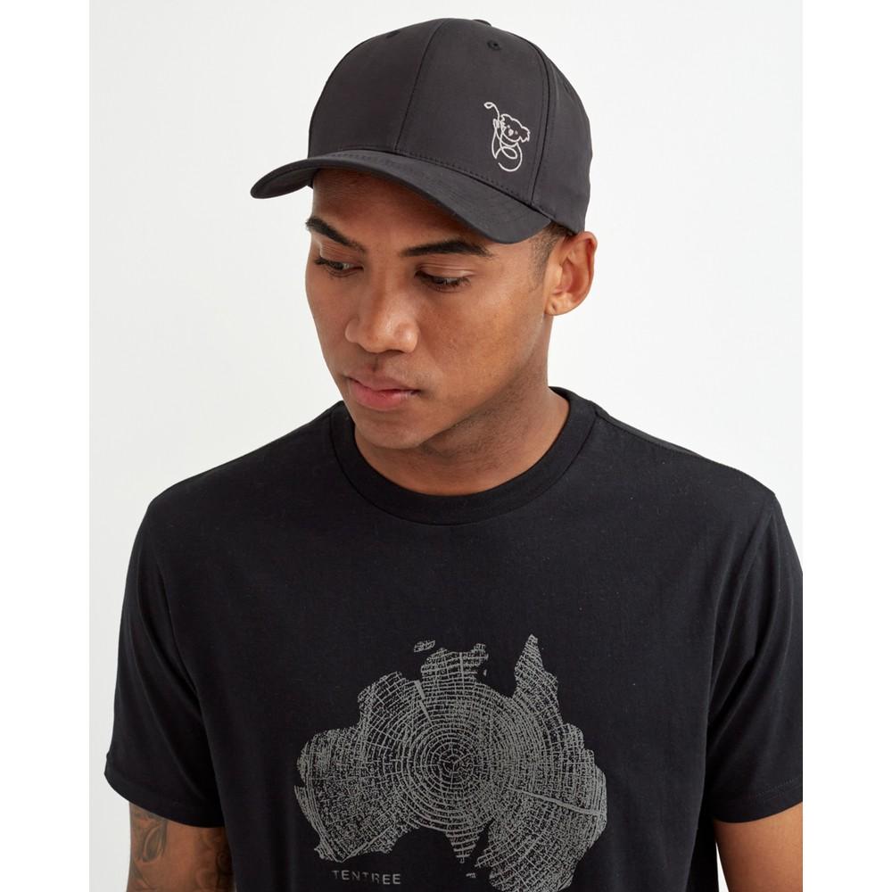 tentree Australia Animal Elevation Hat Meteorite Black