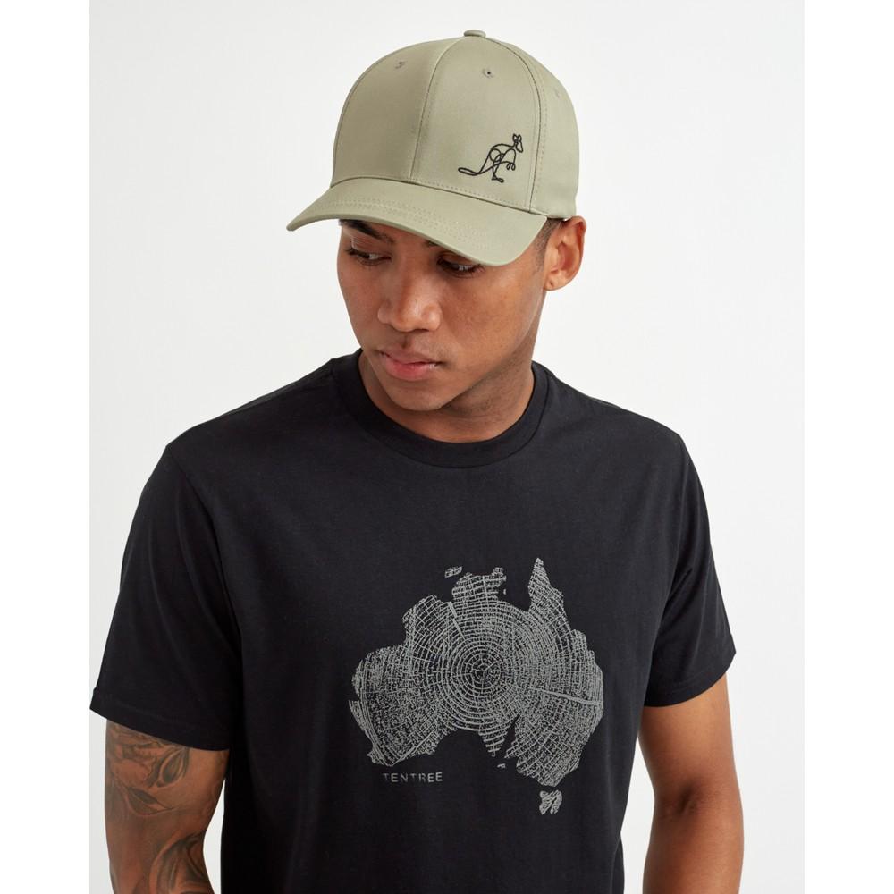 tentree Australia Animal Elevation Hat Vetiver Green