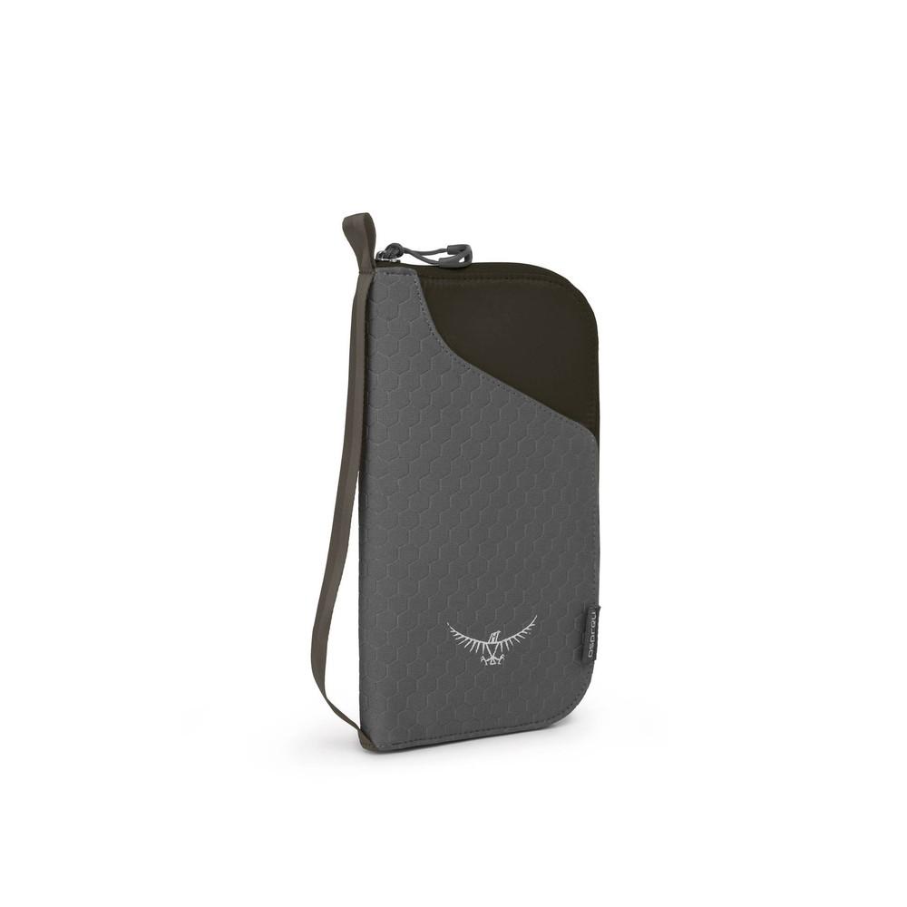 Osprey Europe Document Zip Wallet Black