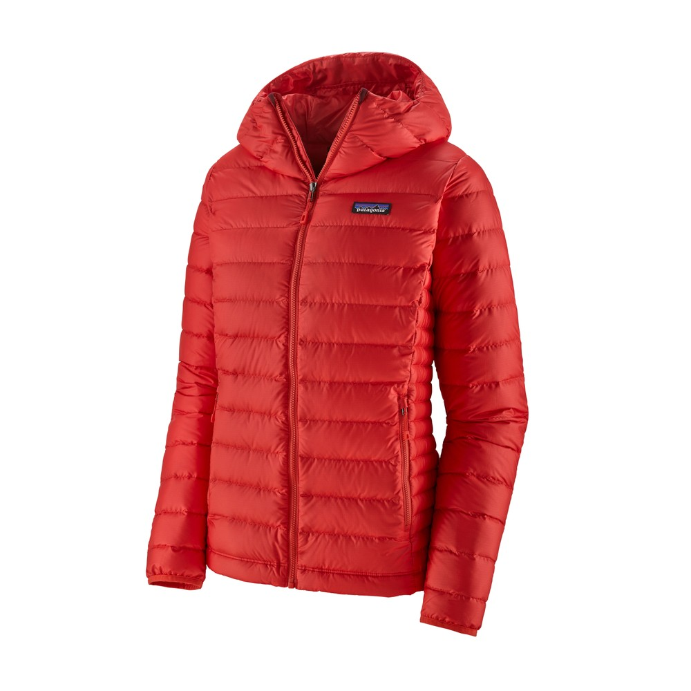 Patagonia Down Sweater Hoody Womens Catalan Coral