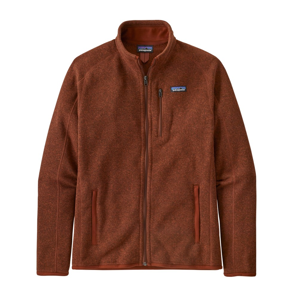 Patagonia Better Sweater Jacket Mens Barn Red