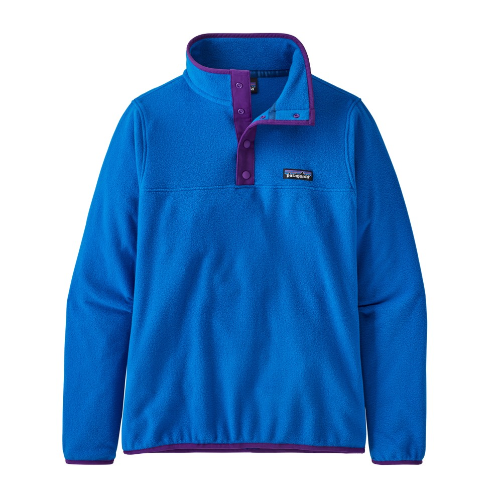 Patagonia Micro D Snap -T P/O Womens Alpine Blue