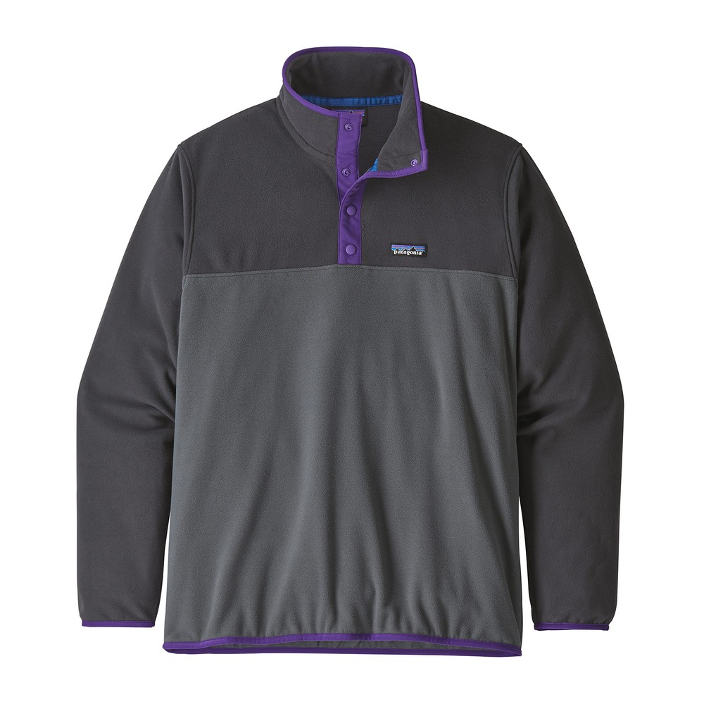 Patagonia Micro D Snap-T Pullover Mens Forge Grey