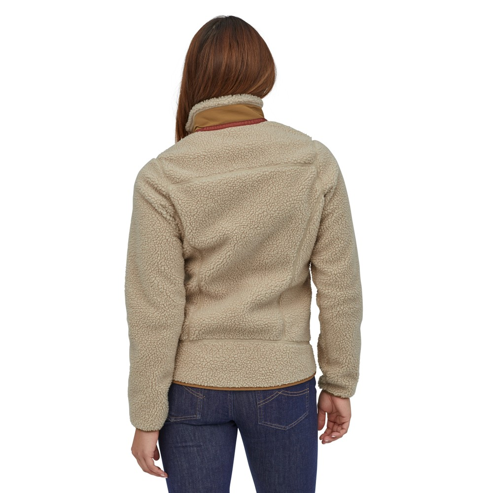 Patagonia Classic Retro-X Jacket Womens Natural w/Nest Brown