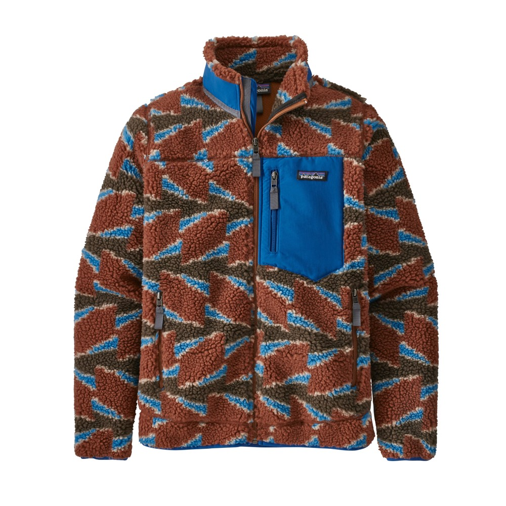 Patagonia Classic Retro-X Jacket Womens Take Root: Burnished Red