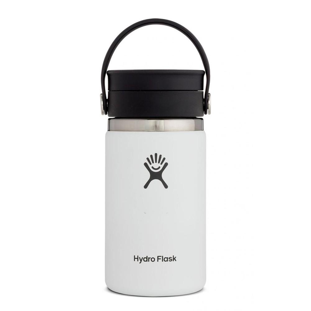 Hydro Flask 12oz Wide Mouth w/FlexSip Lid White