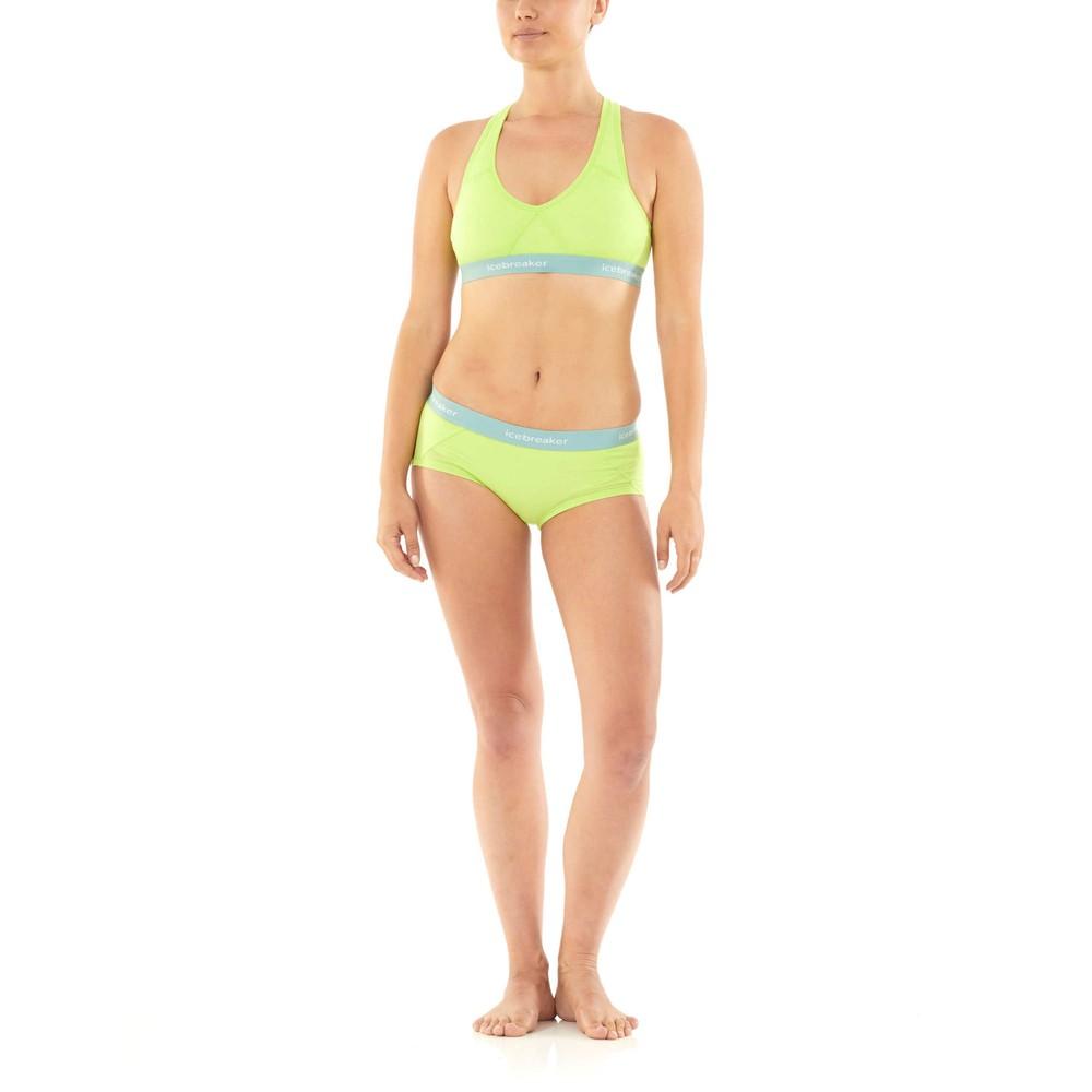 Icebreaker Sprite Hot Pants Womens Aloe
