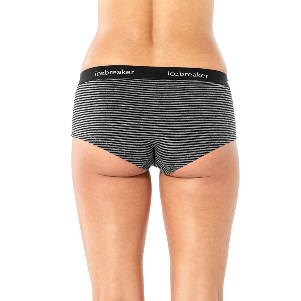 Icebreaker Sprite Hot Pants Womens Gritstone HTHR