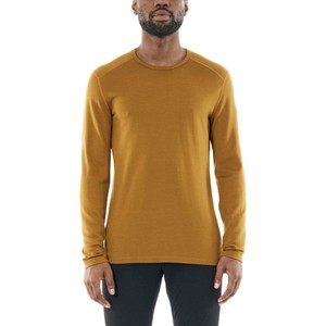 Icebreaker Tech 260 LS Crewe Mens in Curry