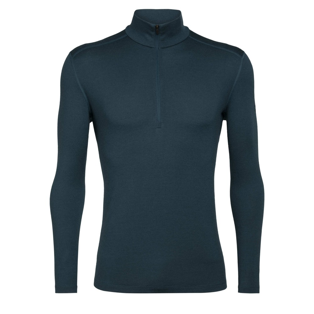 Icebreaker Tech 260 LS Half Zip Mens Nightfall