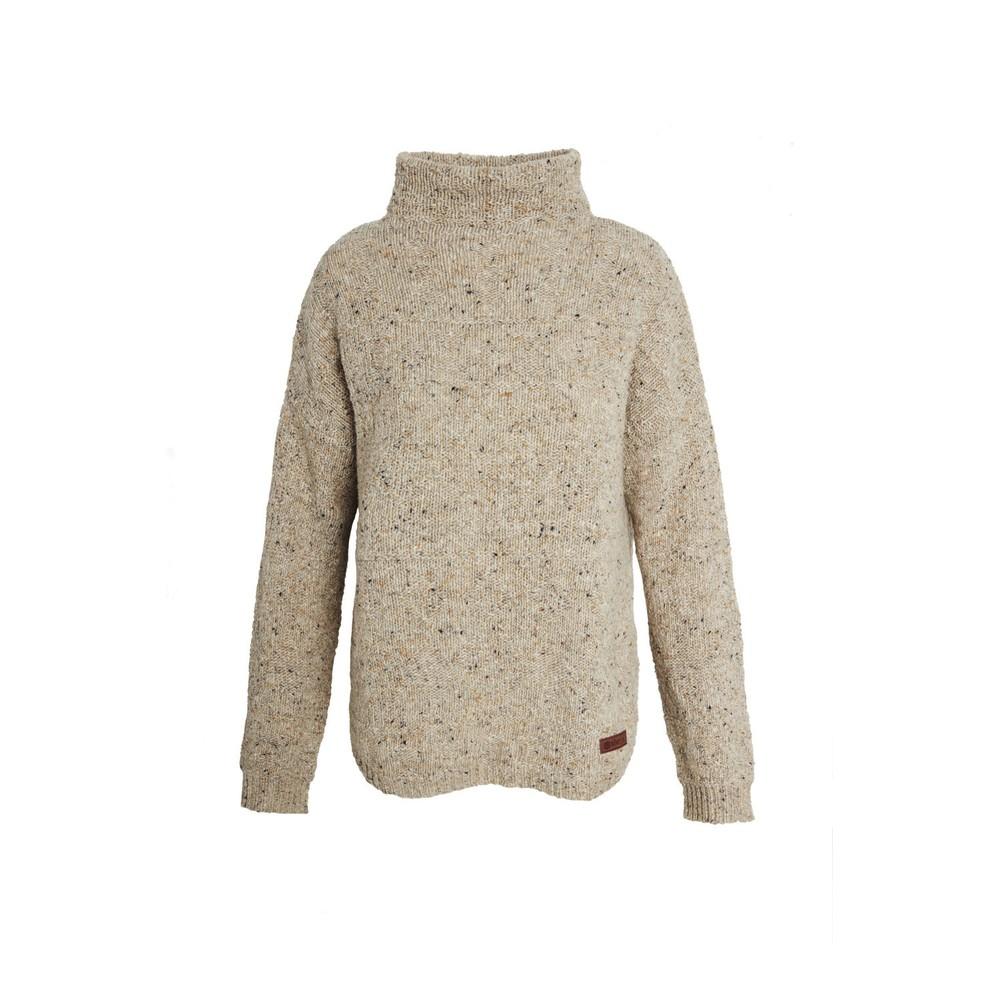 Sherpa Yuden Pullover Sweater Womens Chai Tea