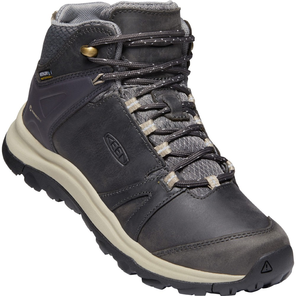 Keen Terradora II Leather Mid WP Womens Magnet/Plaza Taupe