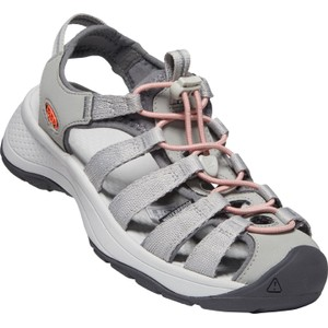 Astoria West Sandal Womens Grey/Coral