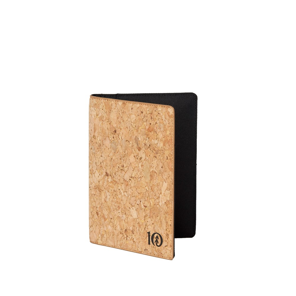 tentree Cork Passport Holder Cork Fabric