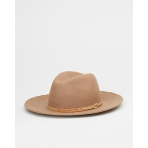 tentree Festival Hat Womens in Tobacco Brown