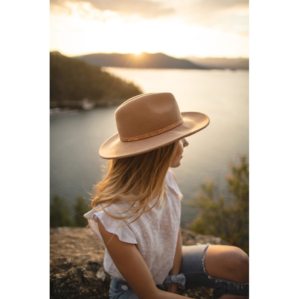 tentree Festival Hat Womens Tobacco Brown