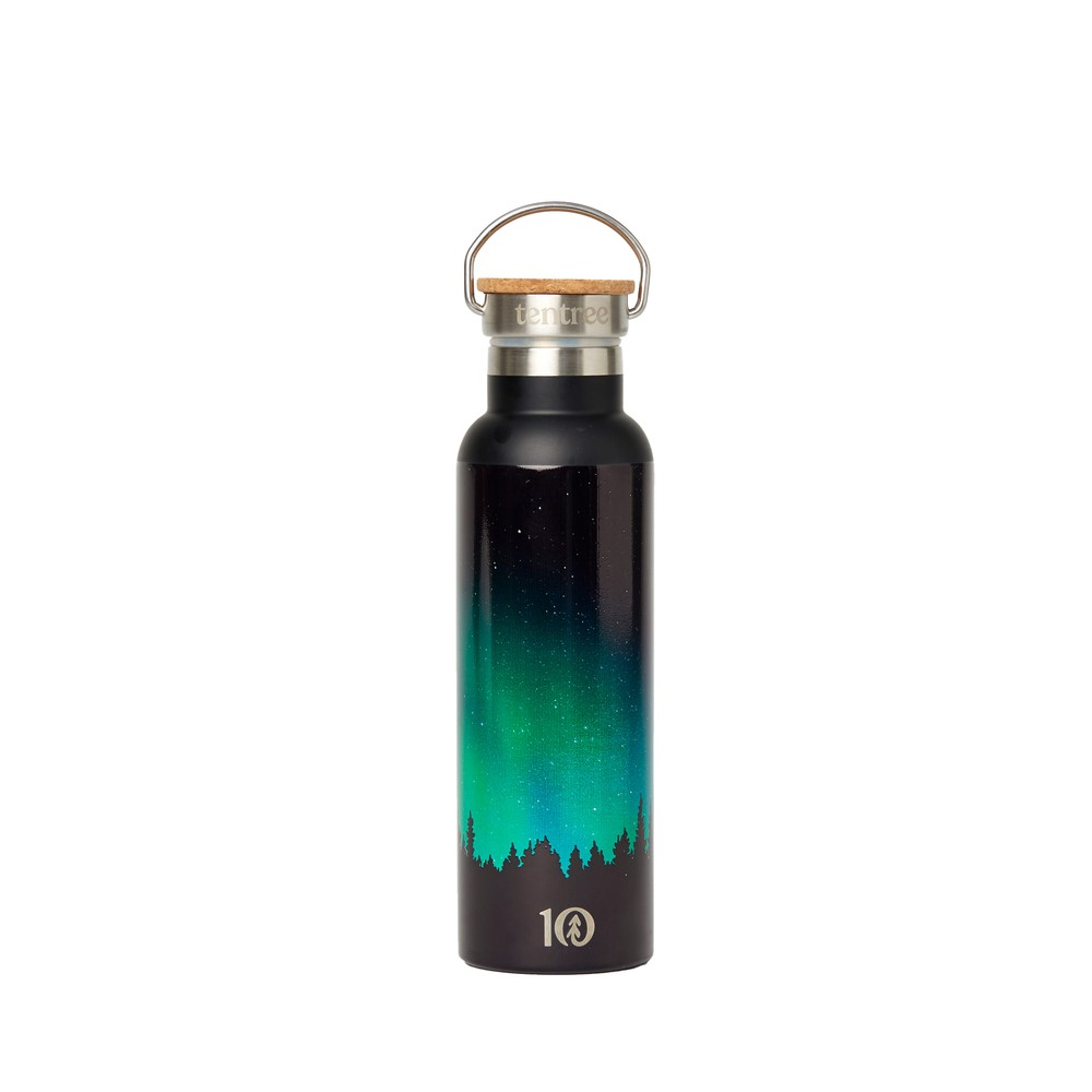 tentree Waterbottle Northern Lights Multi